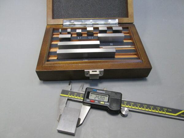 Dimensional calibration