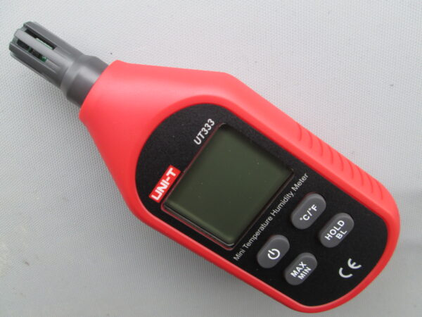 Temperature Humidity meter €120 including calibration certificate, delivery and VAT